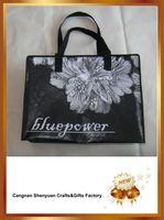 PP nonoven zipper shopping bag