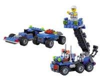 holiday sale Christmas Enlighten children toys 6409 DIY educational blocks Dumper Truck KAZI building block sets free Shipping