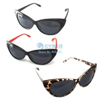 Holiday Sale New Designer Women Ladies Sunglasses Retro Fashion Cat Eye Sunglasses 3 Colors Free Shipping 5465