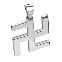 Bahamut Buddhism Wishful Auspicious Necklace Pendant Free With Chain- Titanium steel