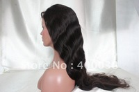 "Small cap cheap wavy Indian remy hair silk top full lace wigs in stock top quality 14""-22"" natural color body wave free shipping"
