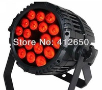Free shipping Factory Price IP65 show lighting 4 in 1 led par light 18pcs * 10w DJ lighting led par can light