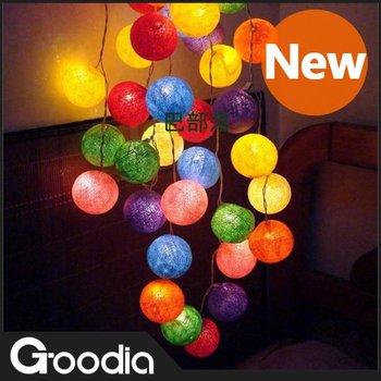 Goodia Holiday bulb light ,Colorful,christmas bulbs,wedding led decoration,AC125V 220V,Warm white,outdoor christmas decoration