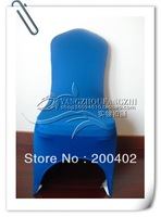free shipping royal blue spandex chair cover for weddings
