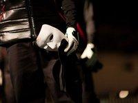 200 pcs/lot THIN BAND Jabbawockeez mask white hip-hop mask