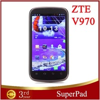 "Free shipping Original Unlocked Mobile  ZTE V970 3G Smart Phone 4.3"" QHD Screen MTK6577 Dual Core 1G RAM 4G ROM"
