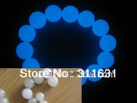 2KG  glow ball  / photoluminescent  bead diametre with holes highest  luminance for necklace and bracelet etc