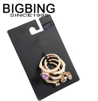 Bigbing jewelry fashion crystal finger ring set 4 in one set Fashion jewelry Good quality nickel free Free shipping! J197