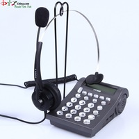 Call Center Telephones / headsets telephones with RJ09 / RJ11 /  2.5mm Jack and one pcs headsets