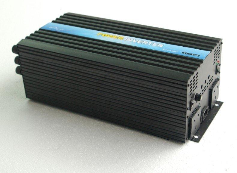 Factory sell CE&ROHS approved ,dc 12v/24v/48v to ac 100v-120v/220v-240v 4000w/4kw ,peak 8000w pure sine wave solar inverter(China (Mainland))