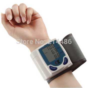 NEW Digital Wrist Blood Pressure Monitor & Heart Beat Meter