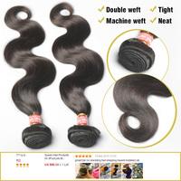 Peruvian Virgin Hair Weaves Loose Wave 3Pcs/Lot Rosa Hair Products Free Shedding Tangle Free Shipping