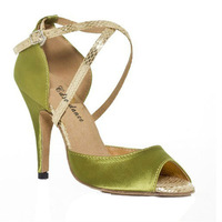 In stock cdso dance 10161  lady's ballroom/purple latin dance shoes, women green dance shoes,8.5cm or 6cm heel  free shipping