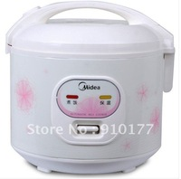 Midea electric rice cookers of mechanical timer control with non-stick coating inner pot / home kitchen  appliance  YJ408G