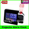 Free Shipping High Quality With Cheap Price Mini Desktop Multi-function Weather Station Projection Alarm Clock