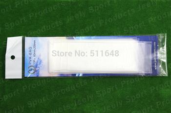 Free shipping 60mmX200mm Carp Fishing 10pcs/Bag PVA Bag 100pcs/set