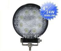 Hot! 24W LED work light,auto LED work lamp,led light for truck, heavy-duty,farming, fire engine,ATCs,SUV