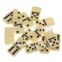 Plastic Mini Domino Jewelry Pendant Tiles Rectangle 28 tiles