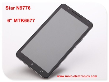 "Start N9776 6inch MTK6577 android 4.1 dual core tablet pc  & 5.08"" phone capacitve 3G sim card slot GPS dual camera freeshipping"