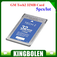 (5PCS/LOT) Free Shipping G-M Tech2 32MB Card for G-M,Holden, ISUZU, OPEL, SAAB, SUZUKI