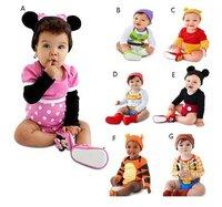 Baby Costume Attire Romper Infant Bodysuit 3-24mons Girls Boys clothing