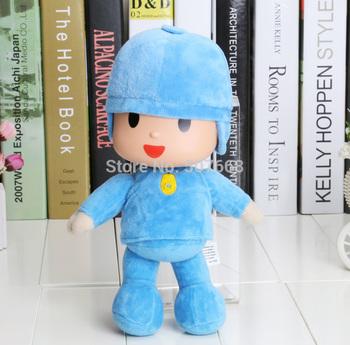 3pcs/lot 12'' New Pocoyo Soft Plush Stuffed Figure Toy Doll  Christmas Gifts For Children