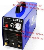 2015 NEW CUT50 AIR INVERTER PLASMA CUTTER 220V 50A (3 pcs 10% off)  free shipping