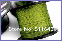 Free Shipping 500M 8 strand  dyneema braid fishing line 25 35 40 45 50 55lb