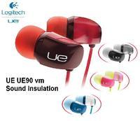 Original Noise isolating Gaming Headset Headphones Logitech UE 90VM Earphones  Phone In Ear Earphones PC Computer