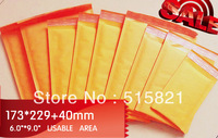 """[cnklp] #0  Kraft  Bubble Mailer Overall size is 173mm x 269mm 6.8""""x 10"""" / usable space is 6 x 9"""" [50pcs]"""
