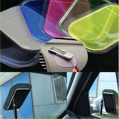 Silica Gel Magic Sticky Pad Anti-Slip Non Slip Mat for Phone PDA mp3 mp4 Car Multicolor car sticker car mats 7001