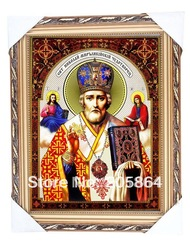 Free shipping tapestry wall hangings,Christ fabric picture for Christmas,decoration picture,samll size gobelin tapestries(China (Mainland))