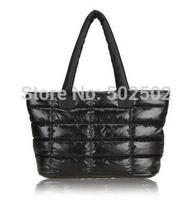 FREE SHIPPING (1 pcs) Winter Cotton handbag fashion handbag winter tote bag ladies' handbags women Wholesale and retail