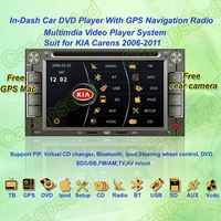 2006- 2011 KIA Carens Car DVD Player ,with GPS Navi,Multimedia Video Radio Player system+Free GPS map+Free shipping!!!