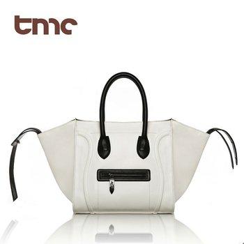2013 Pomotion Free  Fashion Women PU Leather Retro Phantom Totes Shopper Handbags multi color YL162
