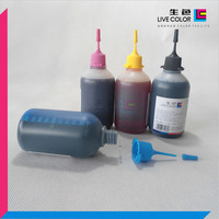 KCMY 4-100ML inkjet refill dye ink Unique for HP 8000 8500 8500A A809n A811a A909a A909n A909g A910a A910g