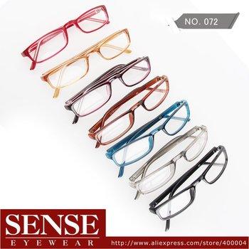 2012 Free Shipping HOT Sale Fashion brand designer optical frame Candy colors vintage Eyewear glasses
