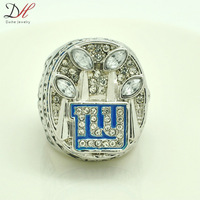 Free shipping Hot selling sport jewelry NFL 2011 Super Bowl New York Giants Championship Ring for men ring Size 11 CR-20270