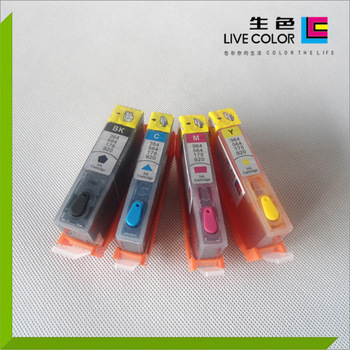 LIVE COLOR KCMY 4 dye chip ink cartridge for HP 920 HP 920 XL for HP officejet 6000 6500 6500A 7000 7500 7500A