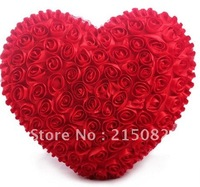 Heart 99 rose pillow  heart cushion wedding gift wedding gifts bed