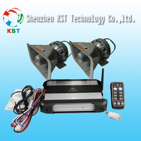 T9 High power  wire and wireless remote control Electronic siren Amplifier with 300W speaker
