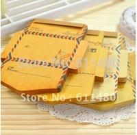 Free shipping  cute stationary   Notepads  envelop   kawaii  memo  pads   Kawaii mini  sticky notes paper notes 12pcs / lot