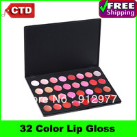 L32, Professional Cosmetic Makeup 32 Color Lip Gloss Lipstick