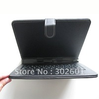 Cheap usefull tablet cover with keyboard for 9.7 inch tablet PC 1 USB Keyboard Protection Leather Case