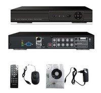 Free Shipping! 8CH H.264 CCTV network DVR,real time recording Iphone 3G mobile,VGA,RJ45,remote control RS485