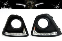 waterproof led drl daytime running light Dim or turning signal function High quality PC material for mazda cx-5 cx5 cx 5
