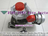 GT1749V 701855-5006S 028145702S Turbo for Ford Galaxy,Seat Alhambra Ibiza;Volkswagen VW Sharan AFN/AUY/ASV/AVG 1.9L TDI 110HP