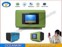 free shipping NiZHi TT6 portable Mini Speaker MP3 Speaker U-Disk+display screen FM