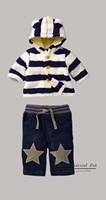 2015 New Year Baby Clothings Boy And Girl Clothing Set Hoodie And Long Pant Kids Wear Pre-order 2Pcs/set CS21101-13B^^EI