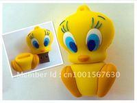 NEW Cartoon the duckling 4GB/8GB/16GB/32GB USB2.0 Flash Memory Stick Pen Drive High Qualiy